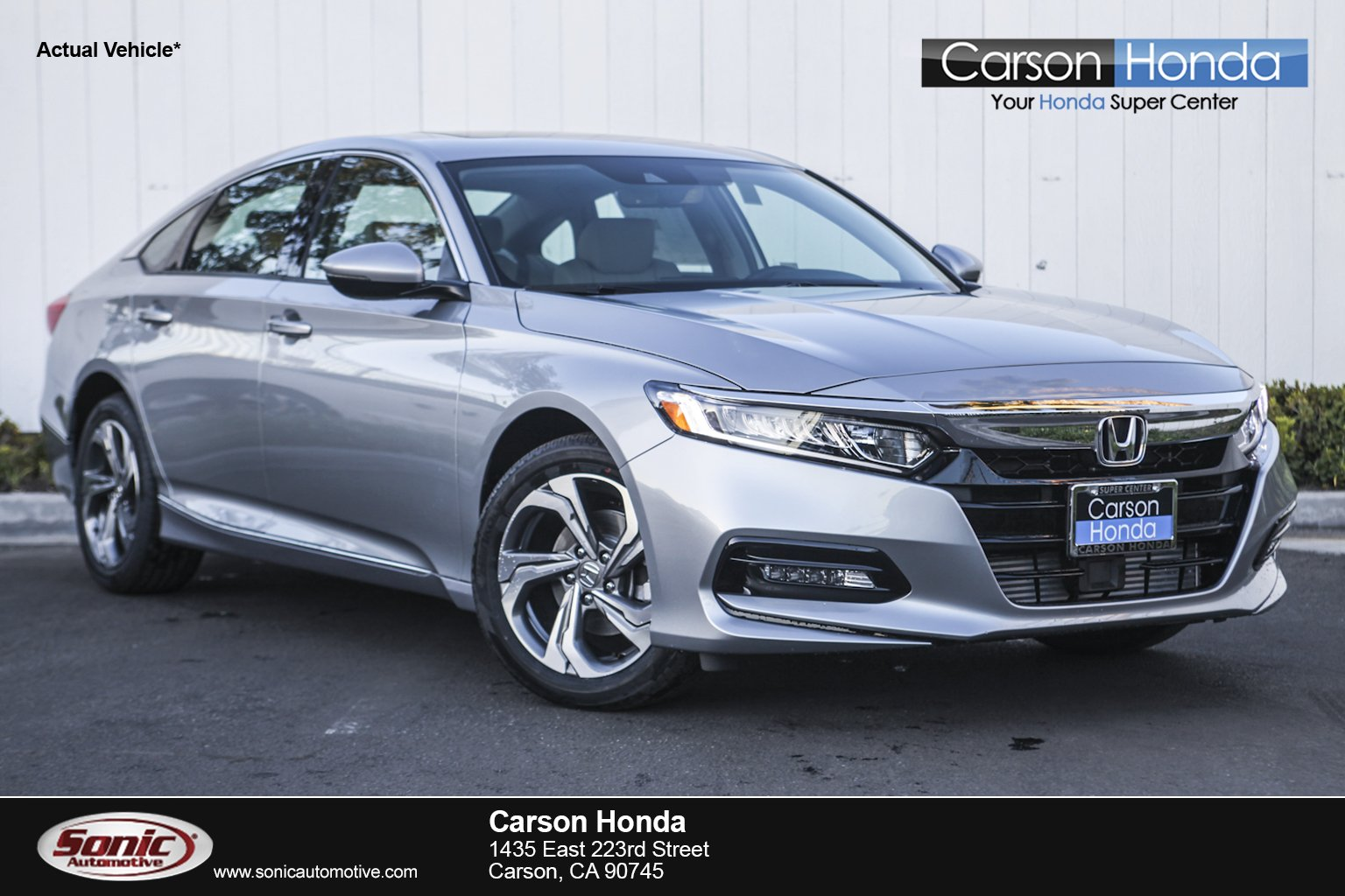 2018 Honda Accord EX L W/Navi Sedan