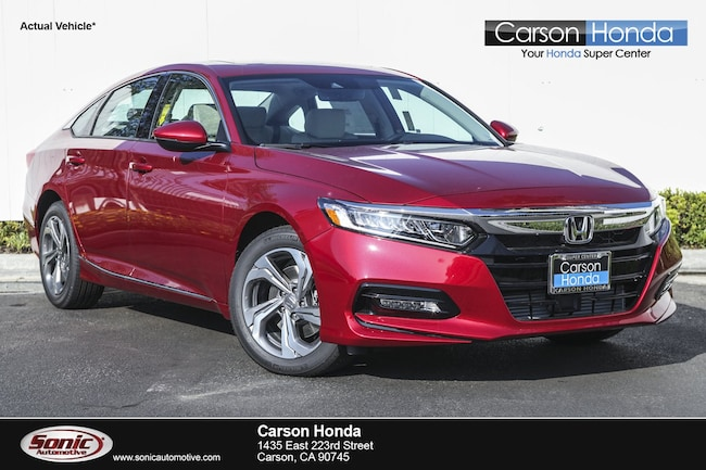 New 2018 Honda Accord EX-L 2.0T Sedan in Carson CA