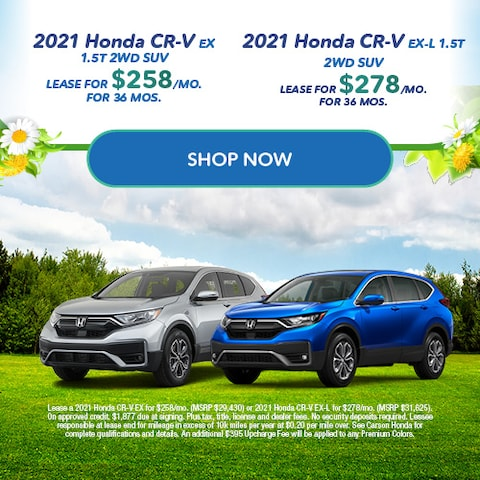 2021 Honda CR-V - Dual Offer