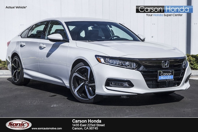 Honda Accord Sport >> New 2019 Honda Accord Sport For Sale In Carson Ca Stock Ka107566