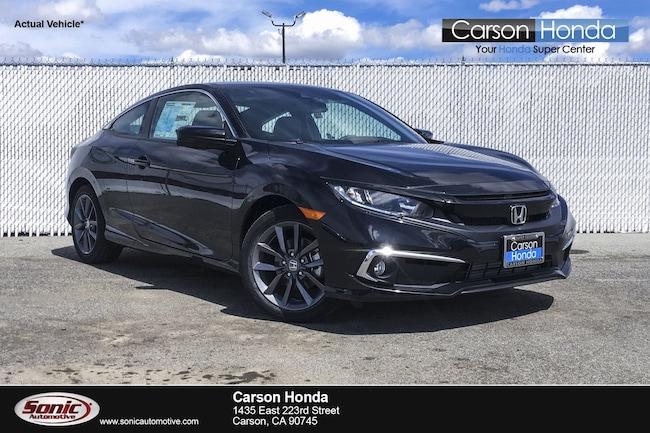 New 2019 Honda Civic EX Coupe in Carson CA