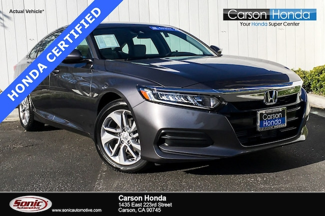 Certified 2018 Honda Accord LX 1.5T  CVT in Santa Monica