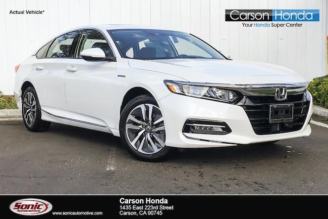 New 2019 Honda Accord Hybrid EX-L Sedan in Carson CA