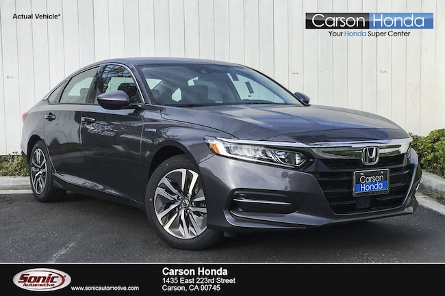 New 2019 Honda Accord Hybrid Base Sedan in Carson CA