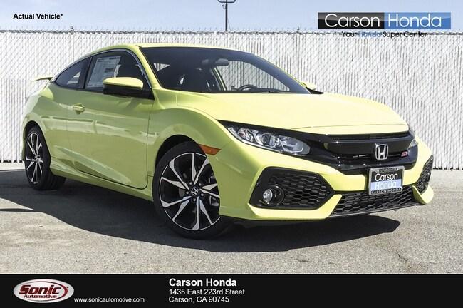 New 2019 Honda Civic Si Manual Coupe in Carson CA