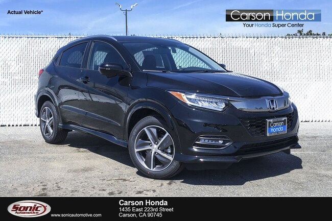 New 2019 Honda HR-V Touring AWD SUV in Carson CA