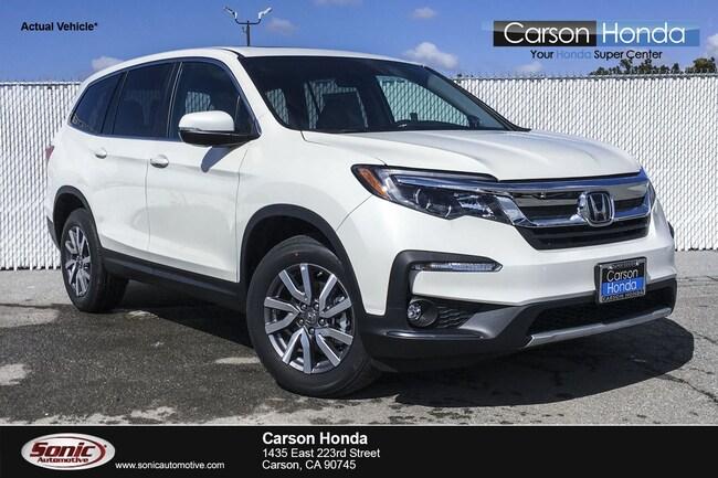 New 2019 Honda Pilot EX-L FWD SUV in Carson CA