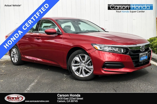 Certified 2018 Honda Accord LX 1.5T  CVT Sedan in Carson CA