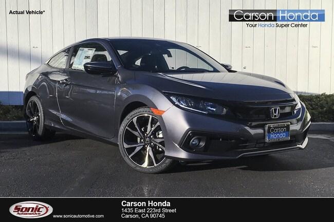 New 2019 Honda Civic Sport Coupe in Carson CA