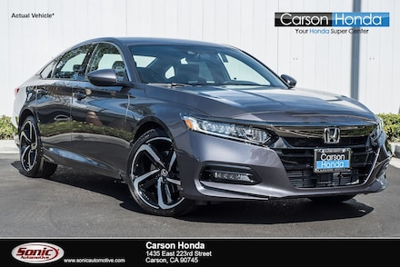 Used 2019 Honda Accord Sport 1.5T Sedan for Sale in Ontario, CA