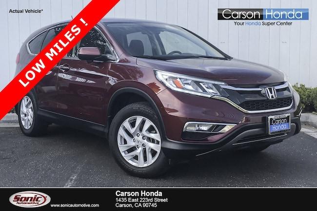 Used 2016 Honda CR-V EX SUV in Carson CA