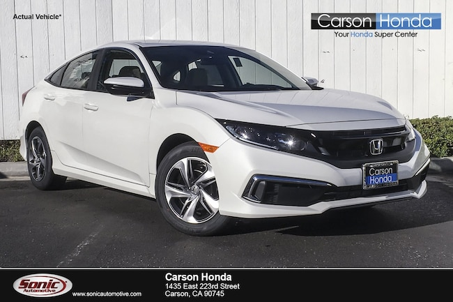 New 2019 Honda Civic LX Sedan in Carson CA