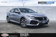 New 2019 Honda Civic LX Hatchback in Carson CA