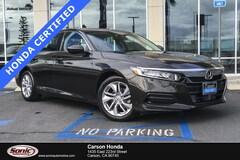 Certified 2018 Honda Accord LX 1.5T  CVT Sedan in Carson CA