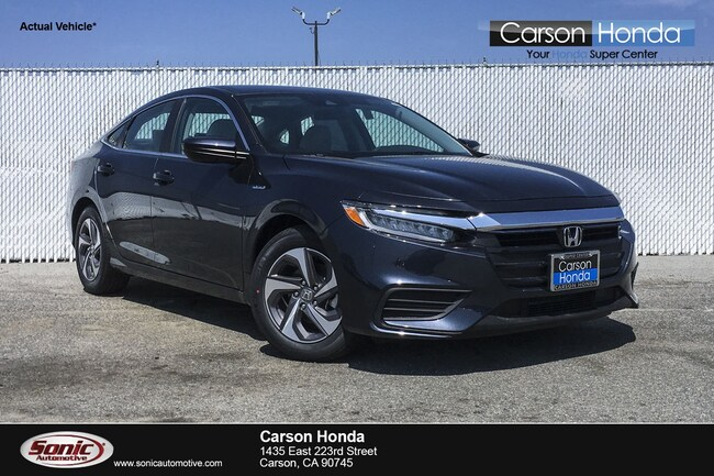 New 2019 Honda Insight LX Sedan in Carson CA