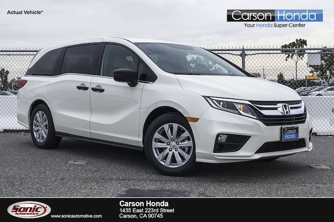 New 2019 Honda Odyssey LX Van in Carson CA