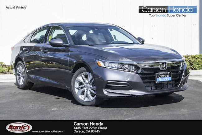 New 2019 Honda Accord LX Sedan in Carson CA