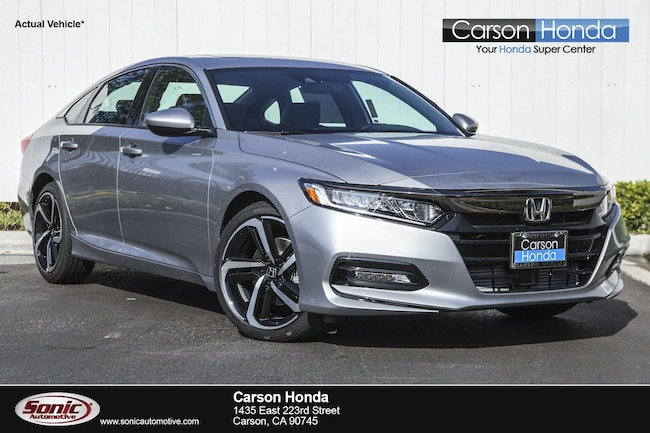 New 2018 Honda Accord Sport 2.0T Sedan in Carson CA