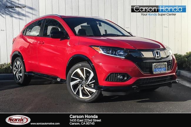 New 2019 Honda HR-V Sport 2WD SUV in Carson CA