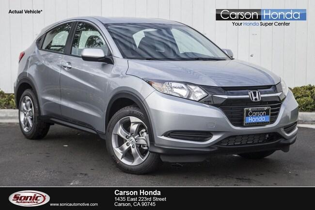 New 2019 Honda HR-V LX 2WD SUV in Carson CA