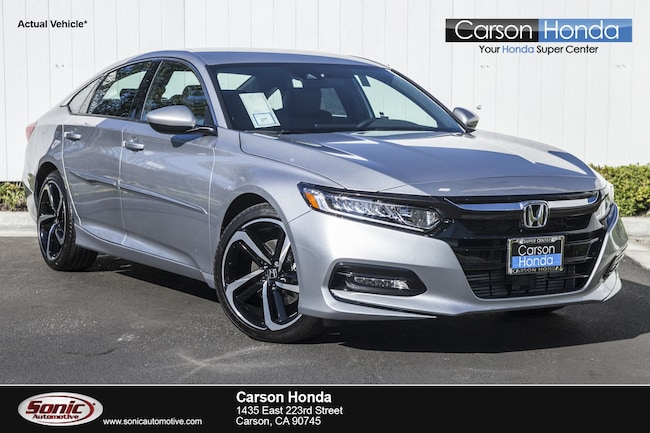 New 2019 Honda Accord Sport Sedan in Carson CA