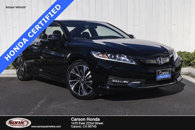 Certified 2017 Honda Accord EX-L V6  Auto in Carson CA