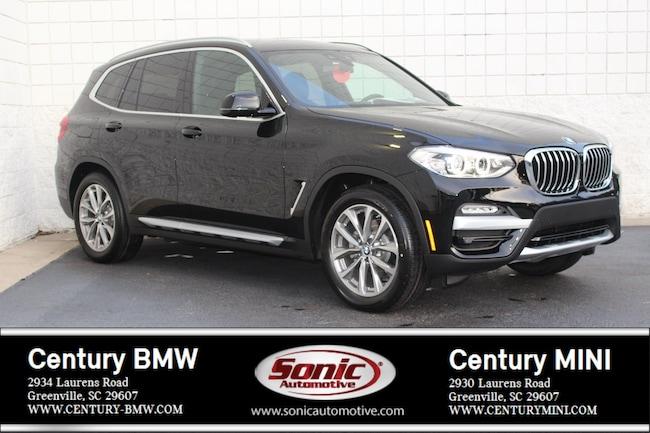 New 2019 BMW X3 xDrive30i SAV Greenville