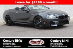 New 2018 BMW M6 Convertible Convertible Greenville