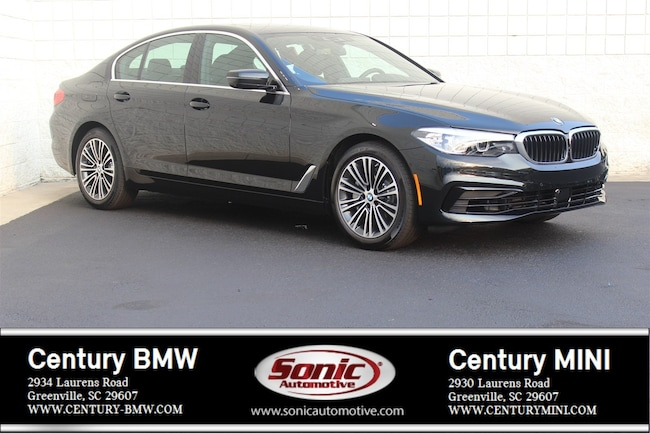New 2019 BMW 5 Series 540i Sedan Greenville