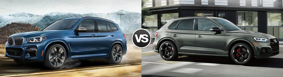 Compare 2019 Bmw X3 Vs 2019 Audi Q5 Greenville Sc