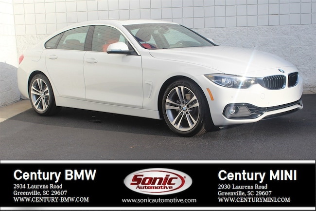 Used 2019 BMW 4 Series 430i Gran Coupe in Greenville
