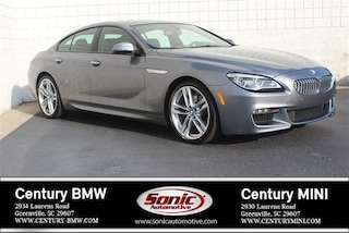 Certified 2016 BMW 6 Series Gran Coupe in Greenville