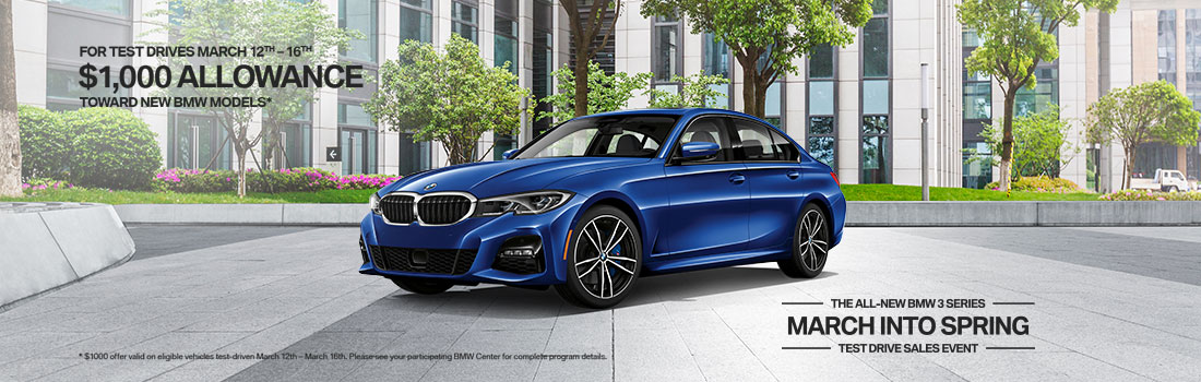 March into Spring Test Drive Event - Century BMW