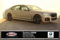 New 2020 BMW 740i Sedan Greenville