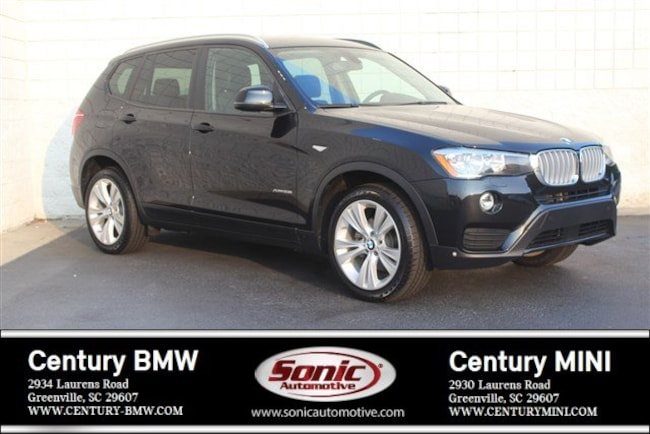 Certified Used 2016 BMW X3 SAV in Greenville