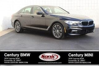 Used 2018 BMW 5 Series Sedan for sale in Greenville, SC