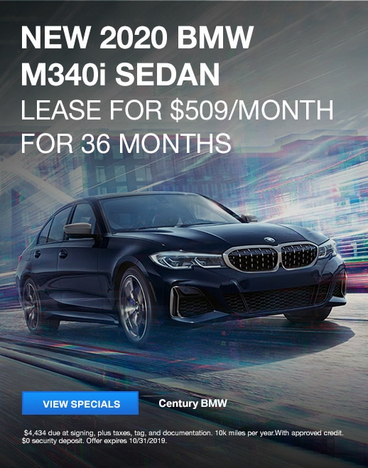 2020 BMW M340i Lease Specials