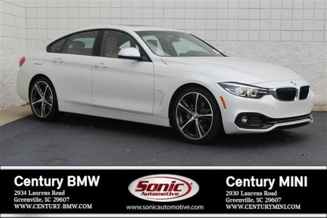 Certified Used 2018 BMW 4 Series Gran Coupe in Greenville