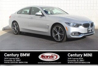Used 2019 BMW 4 Series Gran Coupe for sale in Greenville, SC