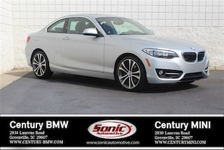 Used 2016 BMW 2 Series Coupe for sale in Greenville, SC