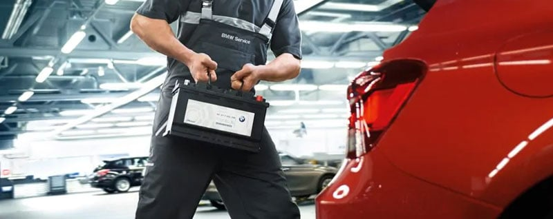 BMW Battery Service in Greenville