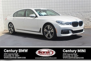 Used 2016 BMW 7 Series Sedan for sale in Greenville, SC