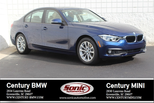New 2018 BMW 320i Sedan Greenville