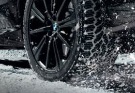 ORIGINAL BMW COLD WEATHER WHEELS AND TIRES