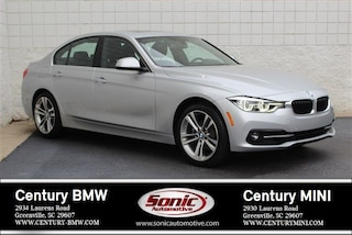 Used 2018 BMW 3 Series Sedan for sale in Greenville, SC