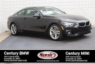 Used 2019 BMW 4 Series Coupe for sale in Greenville, SC