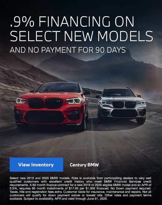 .9% Financing on New BMW Models