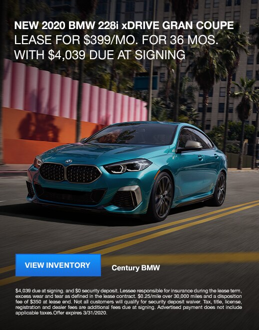 2020 BMW 228i Lease Specials