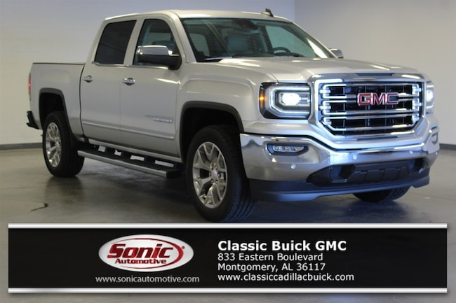 New 2018 GMC Sierra 1500 SLT Truck Crew Cab for sale in Montgomery, AL