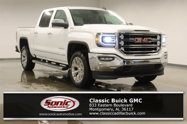 New 2018 GMC Sierra 1500 SLT Truck Crew Cab for sale in Montgomery, AL